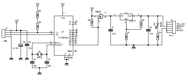 do it yourself project to use a wii remote controller wiiscan schematic of usb power module